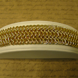 Flat Maille Jump Ring Chain