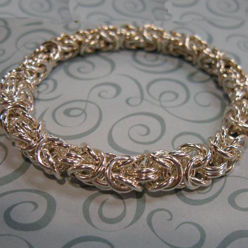Byzantine Jump Ring Chain Instructions And Bulk