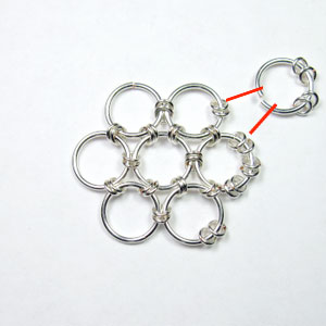 Step 17 Six-in-One Chain Maille